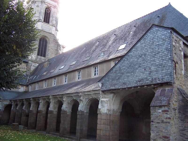 Cloître St-Melaine à Rennes