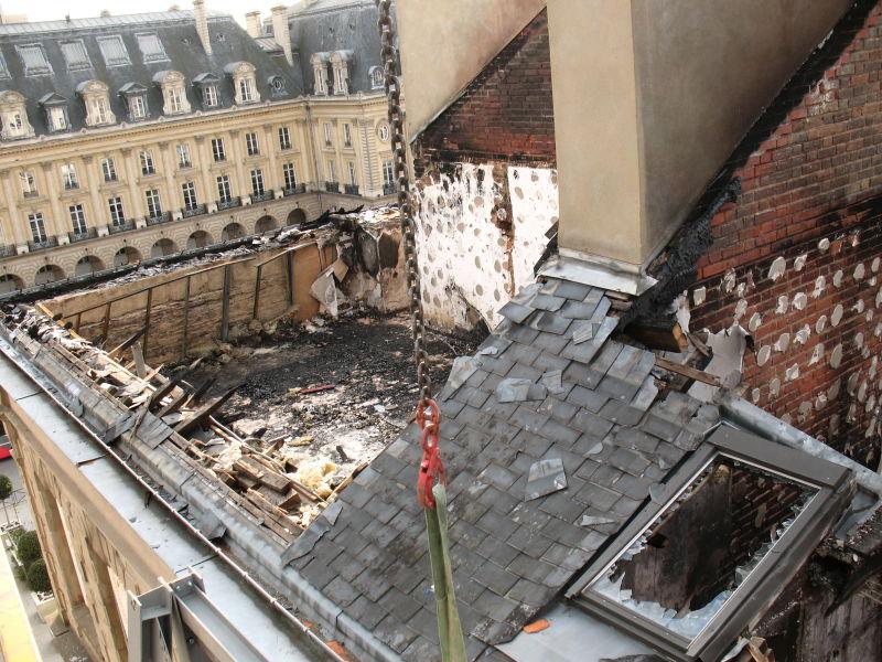 Avant démolition et reconstruction