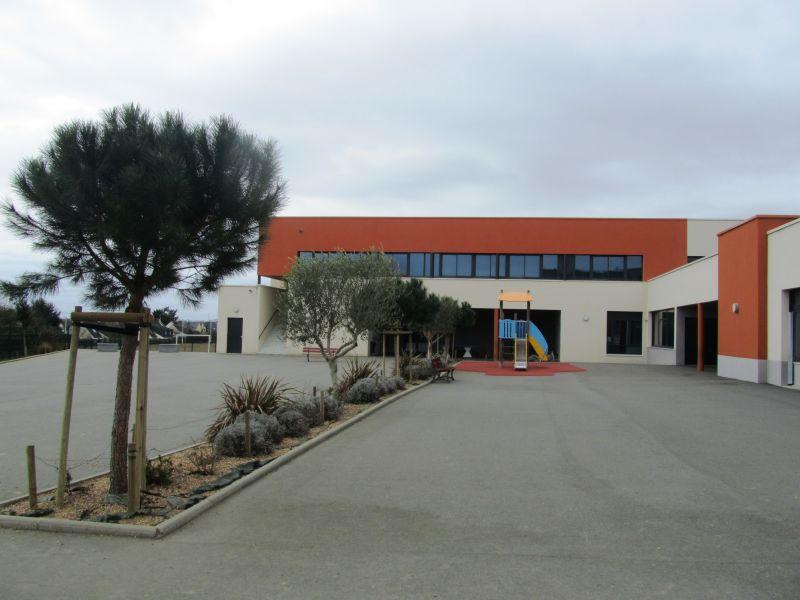 Vue du bâtiment neuf