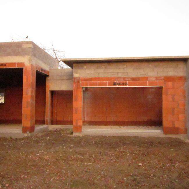 Maison en bio briques