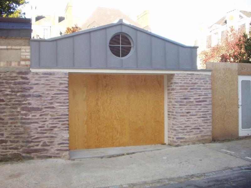 Réalisation garage à Rennes