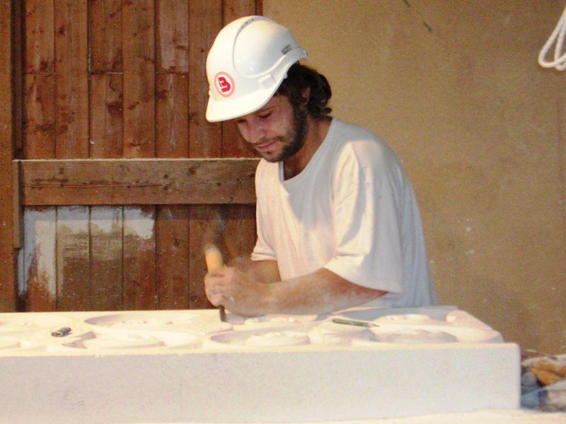atelier taille de pierre blanche