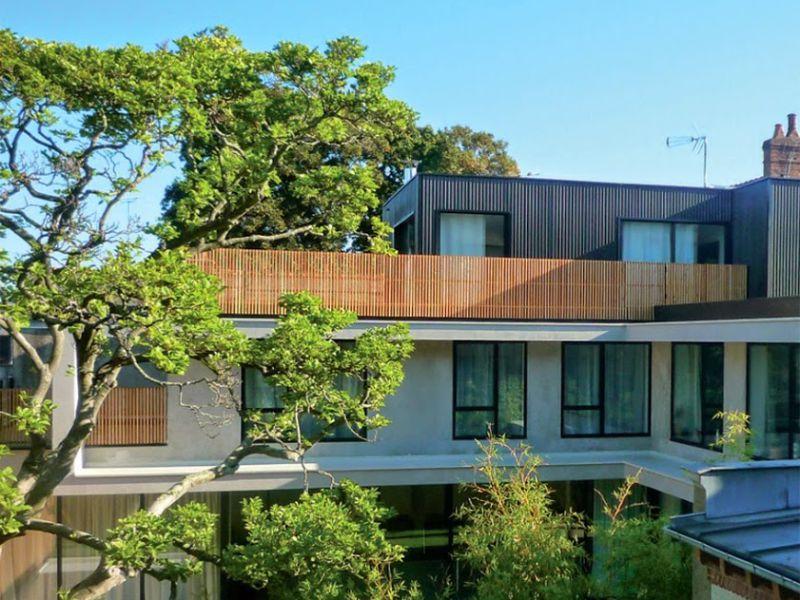 Construction maison contemporaine en hyper centre