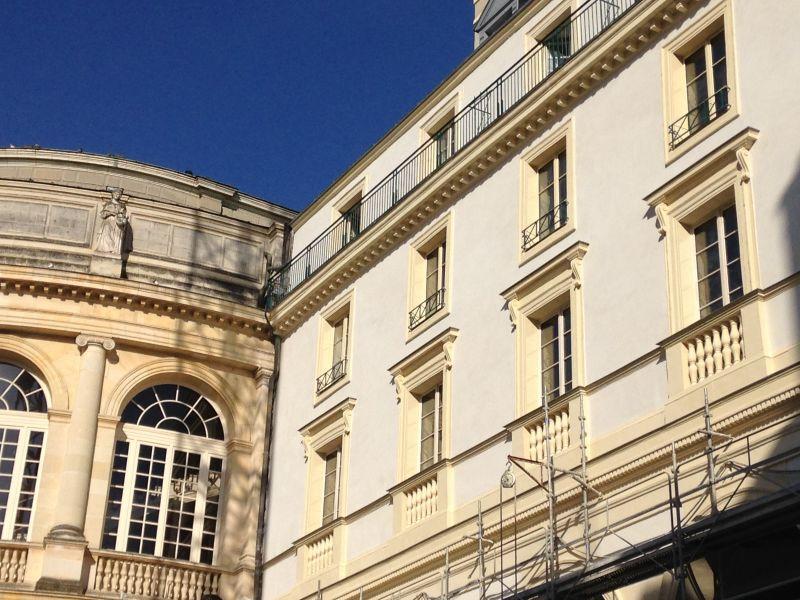 Détail du ravalement de façade