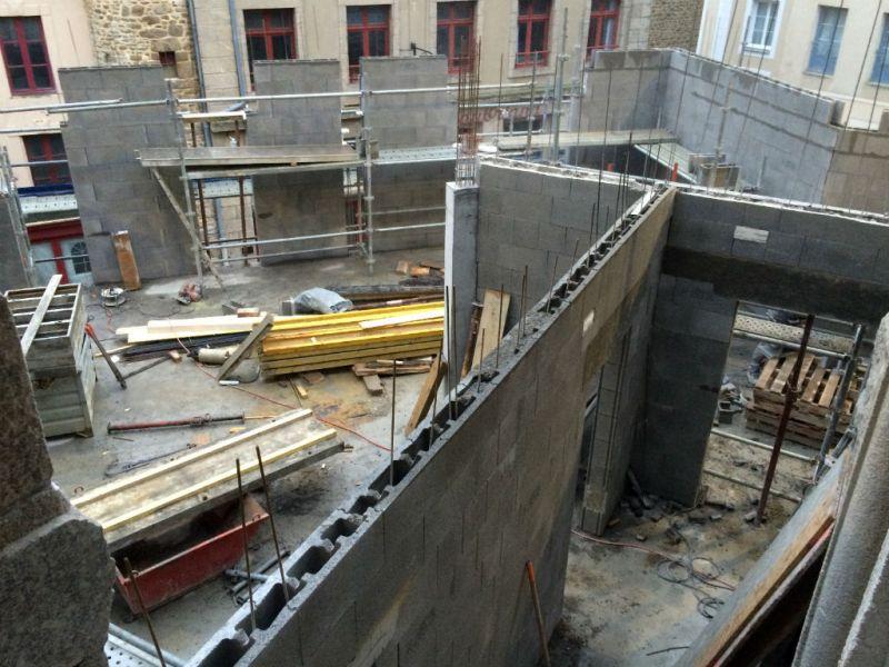 Construction et extension de l'hôtel Grand Bé