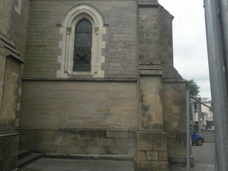La chapelle avant travaux - façade Est