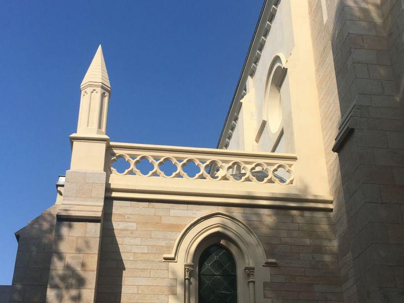 La Chapelle après travaux - façade Est