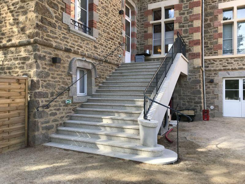 Création d'un nouvel escalier en béton