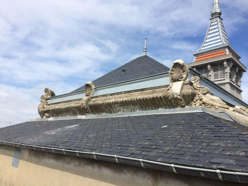 La toiture du Surcouf avant travaux